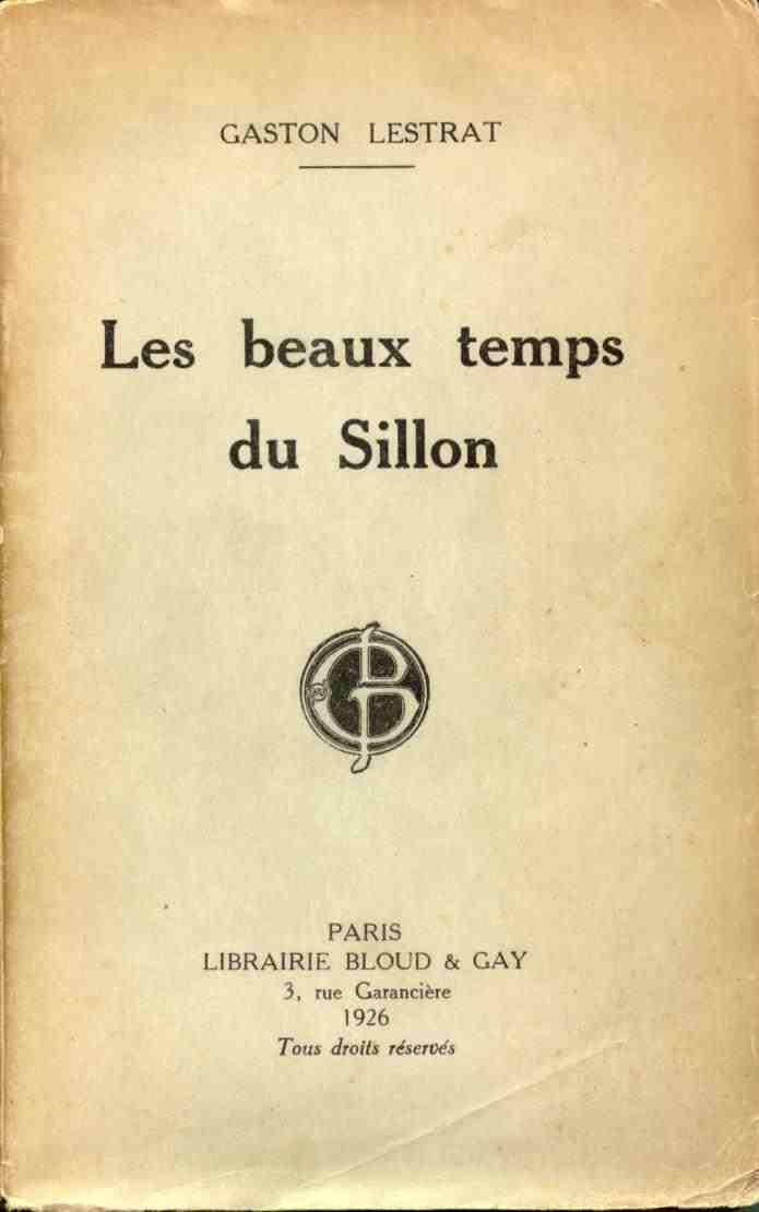 Les beaux temps du Sillon